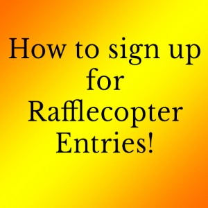 How to get Rafflecopter Entries | Krista Lakes Romance