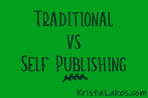 Traditional vs Self Publishing