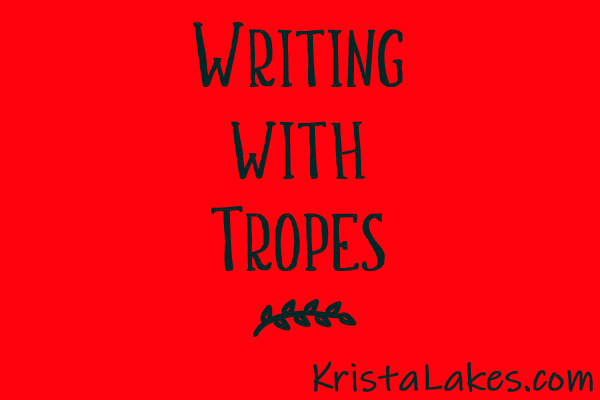 Writing with Tropes (words on red background)
