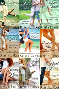 9 of the 10 Kisses books